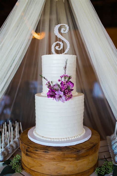 blog simple  elegant rustic purple wedding
