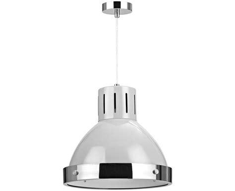 buy vermont light grey chrome pendant light at argos co uk
