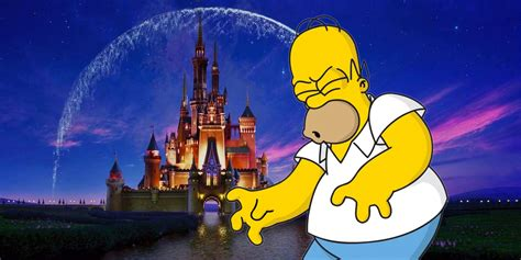a fox disney deal could cancel the simpsons screen rant