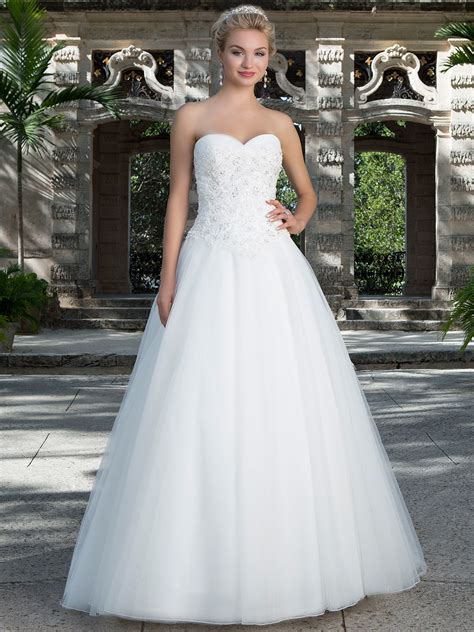 empire wedding dresses sincerity 3901 sweetheart tulle gown bridal dress 3901
