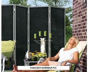 Paravent exterieur luxe pvc for Paravent terrasse