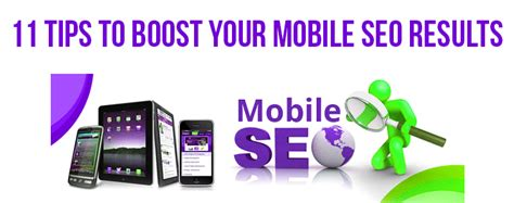 Seo Results by 11 Tips For Transforming Your Mobile Seo Results