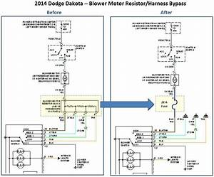 Wiring Diagram  2001 Dodge Dakota Blower Motor Resistor Wiring Harness