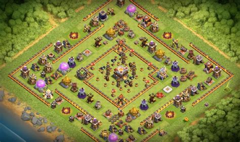 th8 to th11 farming trophy 12 base layouts 2017 ke liye farming pushing clan war th8