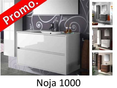 meubles lave mains robinetteries meuble sdb meuble de salle de bain 100 cm noja 1000 2