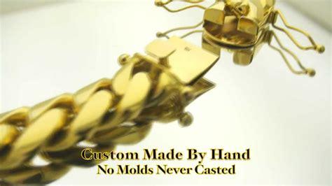 17mm Miami Cuban Link Hand Made Custom Big Thick Fat Chain