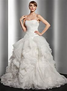 forme marquise bustier en coeur traine moyenne organza With robe de mariée jjshouse