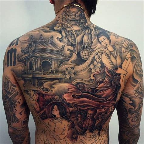 Japanese Back Tattoo For Men  Wwwimgkidcom  The Image