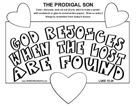 16 best parable of lost images on prodigal 892   6e9d42f9c694d48bca79adac682eaad0 prodical son craft sunday school lessons