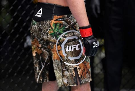 bryce mitchell ufc reebok camo shorts fighterxfashioncom