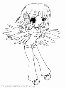 Delilah Chibi Lineart by YamPuff on DeviantArt