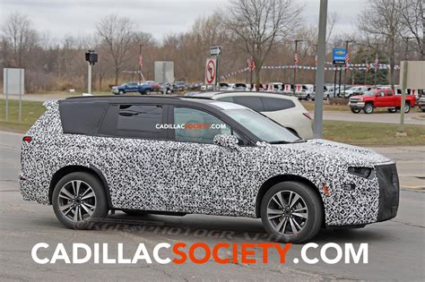 Spy Pictures Cadillac Xt6 Caught Testing For First Time