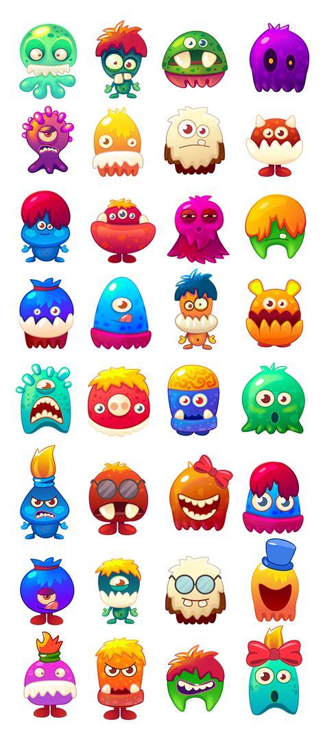 characters affinity designer  behance design