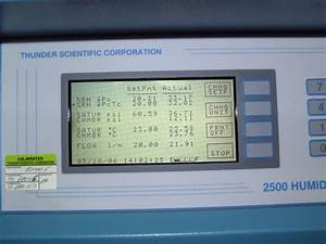 Chart Recorder Calibration Using The Model 2500 Two