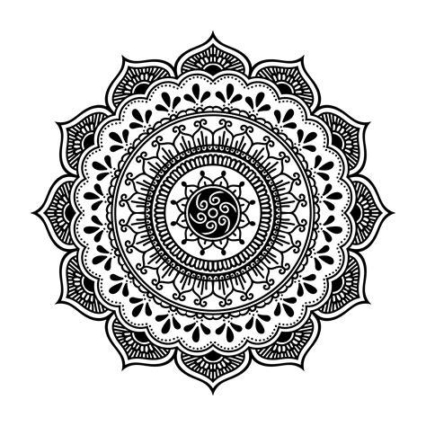 henna vector free vector stock graphics