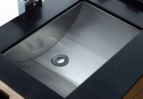 stainless steel undermount bathroom sink undermount sink bathroom with rectangular shape ideas