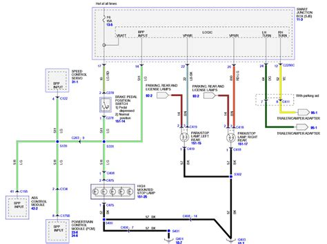 2001 Escape Charging Diagram by Ford Escape Wiring Schematic
