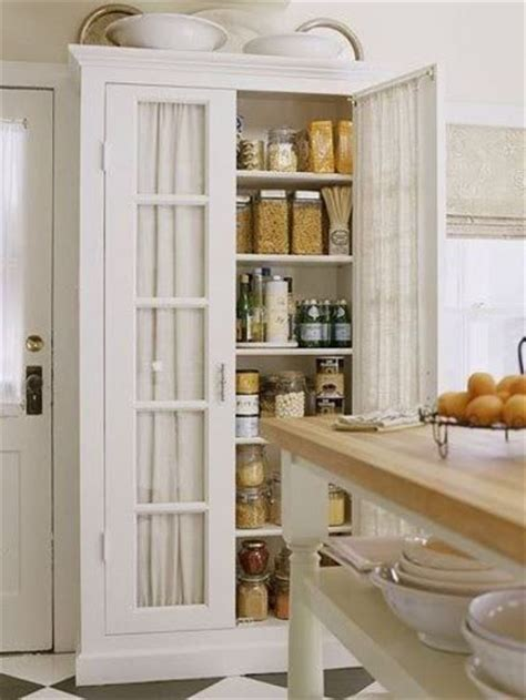 free standing pantry adding an kitchen look with white kitchen pantry