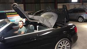 Audi A4 Roof Opening Demo