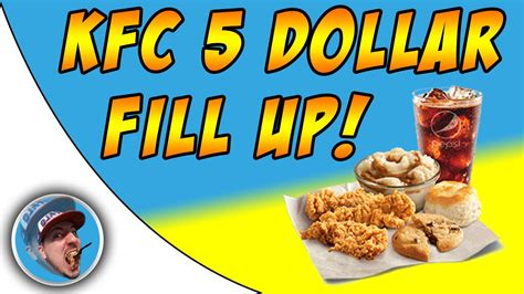 cuisine r馗up kfc 5 dollar fill up food review chords chordify