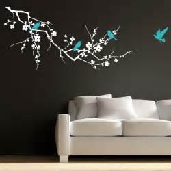 birds on branch tree vinyl wall art sticker decal art graphic living room ebay