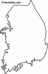 Worldatlas Peninsula sketch template