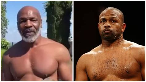 Russ anber, who was in roy jones jr.'s corner over the weekend, joined melnick in the afternoon. Mike Tyson vs. Roy Jones Jr. Set For September 12