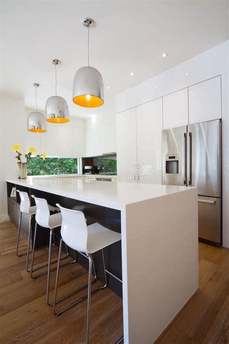 island kitchen bench designs modern australian kitchen renovation with waterfall island 4825