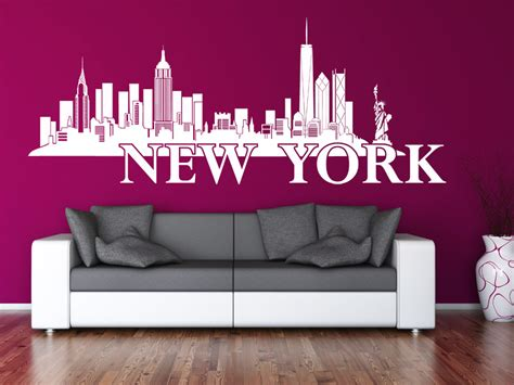 wandtattoo new york wandtattoo new york skyline wandtattoo net