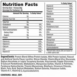 Dr  Sears Zone Protein Powder