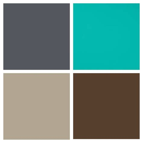 orange turquoise brown grey color scheme google search