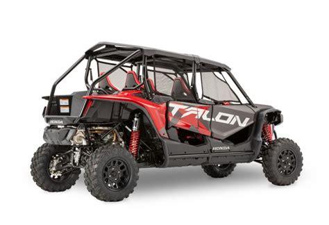 Honda Talon 2020 by All New 2020 Honda Talon 1000x 4 Seater With Fox Live