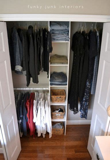 Closet Organization Ideas For Apartments by From Pile To Style A 50 Closet Redo I Waited 3