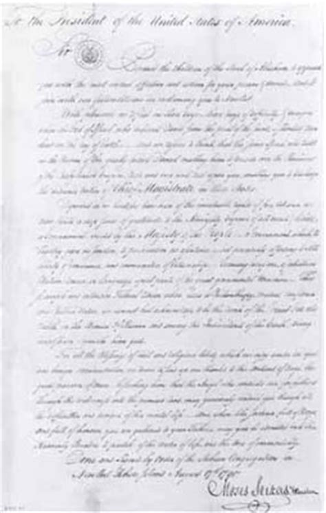 letter to the jews george washington s letter to the jews of newport rhode