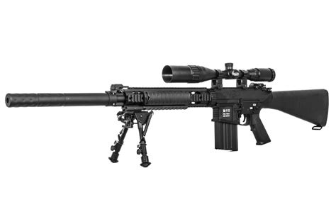 Classic Army M110 Ca-25 Aeg Sniper Airsoft Rifle ( Black
