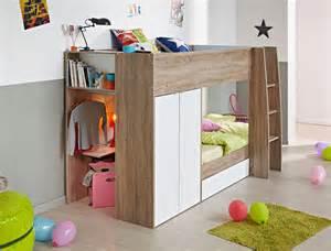 etagenbett mit stauraum airemoderne - Jugendzimmer Blau