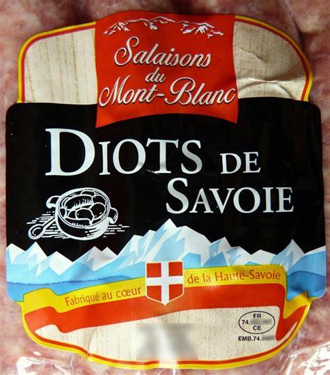 cuisiner les diots de savoie il y a quoi dans ces saucisses de savoie grinçant