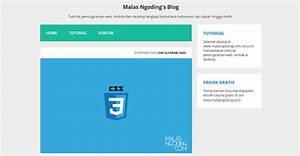 Membuat Template Web Responsive Dengan HTML Dan CSS
