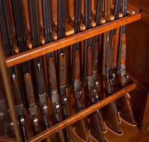 17 Best images about Built in gun cabinet for basement