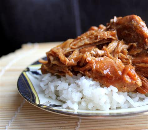 tasty teriyaki chicken crock pot