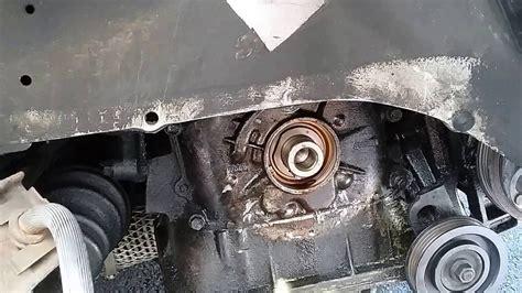 como cambiar el empaque de la polea cig 252 e 241 al change crankshaft seal