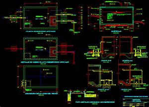 Cistern 15 M3 In Autocad