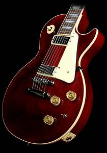 Used Gibson Les Paul Deluxe Electric Guitar Wine Red