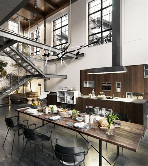 organic kitchen nyc un loft industriel 224 new york planete deco a homes world 1229