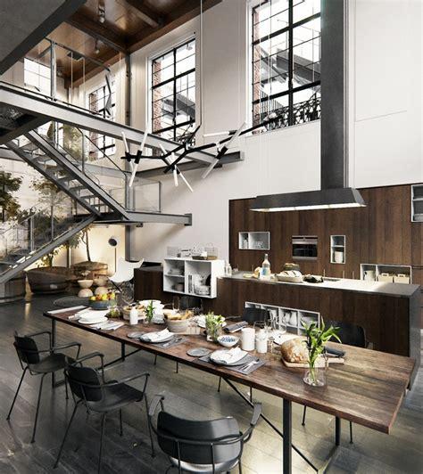 Un Loft Industriel à New York  Planete Deco A Homes World