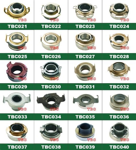 Auto Clutch Release Bearing From Hangzhou Trust Auto