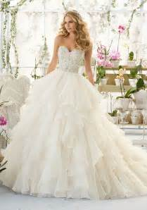 organza wedding dresses wedding dress with bodice on organza style 2815 morilee