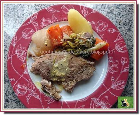 recette de rouelle de porc comme un pot au feu avec navet carotte poireau et pomme de terre