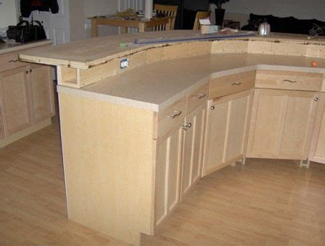 kitchen island construction plans construction detail 2 tier kitchen island with electrical 5027