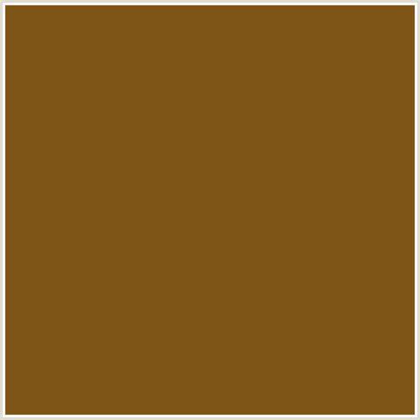 #7f5417 Hex Color  Rgb 127, 84, 23  Brown, Orange, Russet